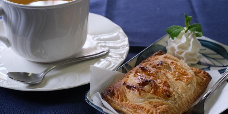 数量限定の手作りアップルパイ コーヒーか紅茶とセットでも良し、単品でも良しの美味しいアップルパイです。